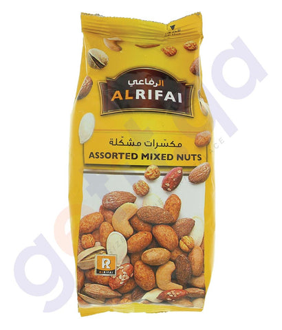 BUY BEST PRICED AL RIFAI MIXED NUTS ASSORTED 200GM IN QATAR