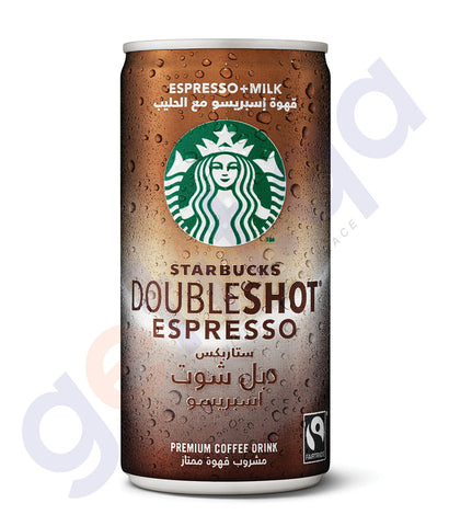 BUY BEST PRICED STARBUCKS DOUBLESHOT 200ML ONLINE IN QATAR