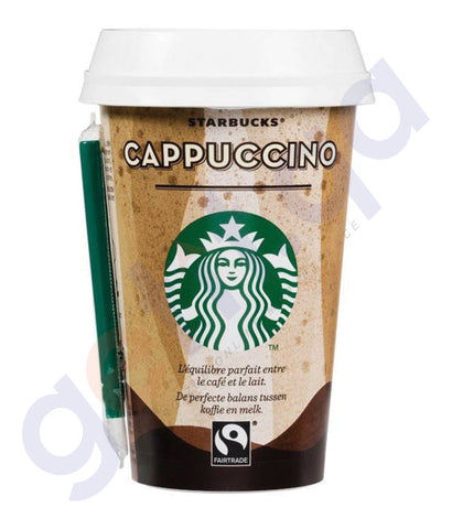 BUY STARBUCKS DISCOVERIES CAPPUCCINO 220ML ONLINE IN QATAR