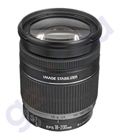 BUY CANON EFS F3.5-5.6 IS 18-200MM LENS ONLINE IN DOHA QATAR