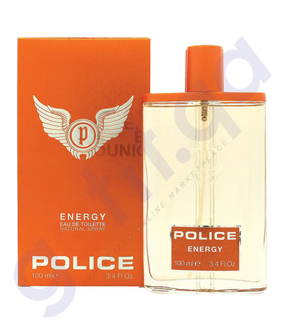 BUY POLICE ENERGY EDT 100 ML FOR MEN ONLINE IN QATAR