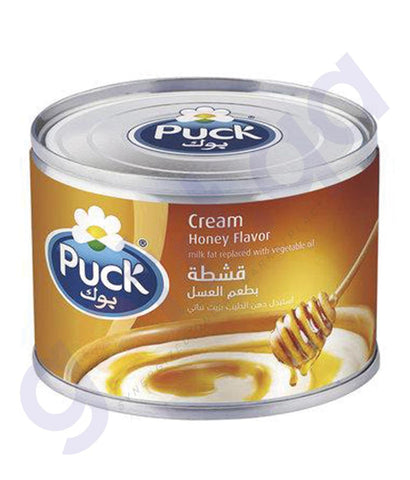 BUY BEST PRICED PUCK STERILIZED CREAM HONEY 170GM IN QATAR