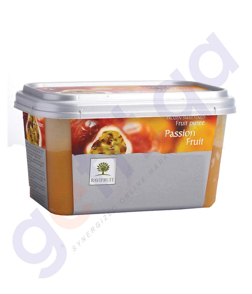 BUY RAVIFRUIT-FROZEN PASSION FRUIT PUREE{1KG} ONLINE IN QATAR