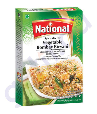 BUY BEST PRICED NATIONAL VEG BOMBAY BIRYANI 70GM IN QATAR