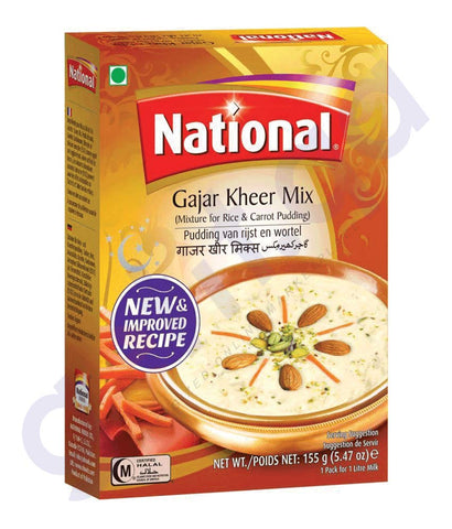 BUY BEST PRICED NATIONAL GAJAR KHEER MIX 155GM ONLINE IN QATAR
