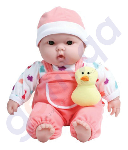 "BUY JC TOYS 15"" LOTS TO CUDDLE BABIES IN ANIMAL THEME - 35065 IN QATAR"