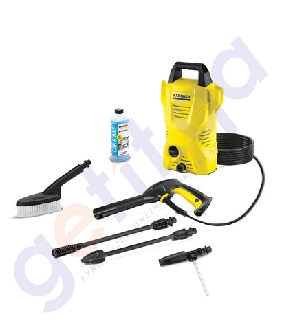 BUY KARCHER COLD WATER HIGH PRESSURE CLEANER K2 COMPACT-CAR IN DOHA QATAR