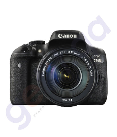 BUY CANON EOS 750D 18-135MM DSLR LENS WiFi IN DOHA QATAR