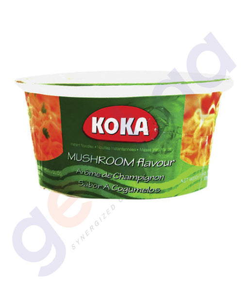 BUY BEST PRICED KOKA BOWL NOODLES MUSHROOM 90GM ONLINE IN QATAR