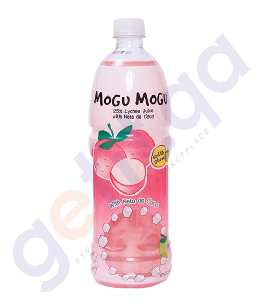 BUY BEST PRICED MOGU LYCHEE JUICE W/NATA 1LTR IN QATAR