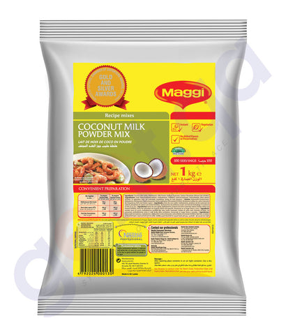Buy Maggi Coconut Milk Powder 1Kg Price Online in Qatar