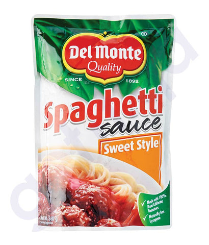 BUY DEL MONTE SPAGHETTI SAUCE SWEET STYLE 560GM IN QATAR