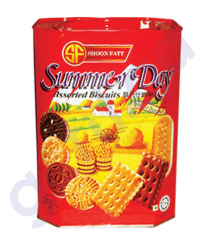 BUY BEST PRICED SHOON FATT VIDORY BISCUIT SUMMER DAY 700GM IN QATAR