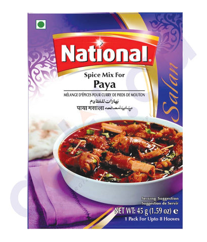 BUY BEST PRICED NATIONAL PAYA SPICE MIX 45GM ONLINE IN QATAR