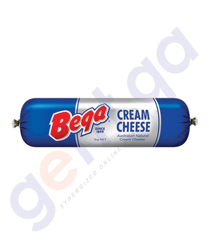 Buy Bega Cream Cheese Chubes 1Kg/500gm/250gm in Doha Qatar