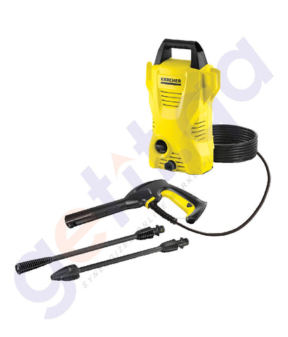 BUY KARCHER COLD WATER HIGH PRESSURE CLEANER K2 COMPACT IN DOHA QATAR