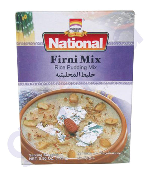 BUY BEST PRICED NATIONAL FIRNI MIX 155GM ONLINE IN QATAR