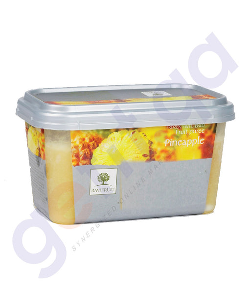 BUY BEST PRICED RAVIFRUIT-FROZEN PINEAPPLE PUREE{1KG} IN QATAR