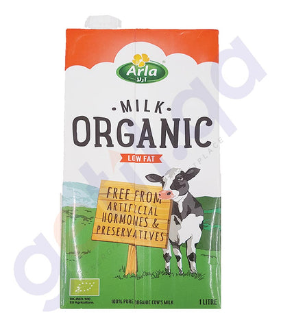 BUY BEST PRICED ARLA ORGANIC MILK LOWFAT 1LTR. ONLINE IN QATAR