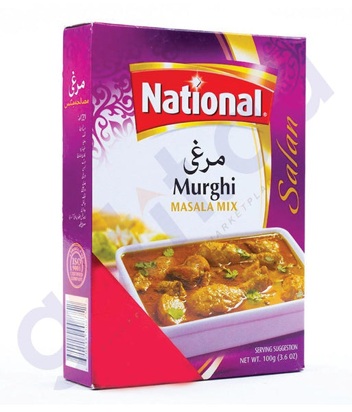 BUY BEST PRICED NATIONAL MURGHI MASALA 100GM ONLINE IN QATAR