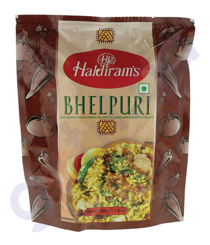 BUY BEST QUALITY HALDIRAMS BHELPURI 200GM ONLINE IN QATAR