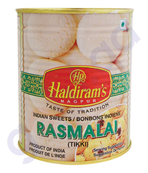 BUY BEST QUALITY HALDIRAMS RASMALAI 1KG ONLINE IN QATAR