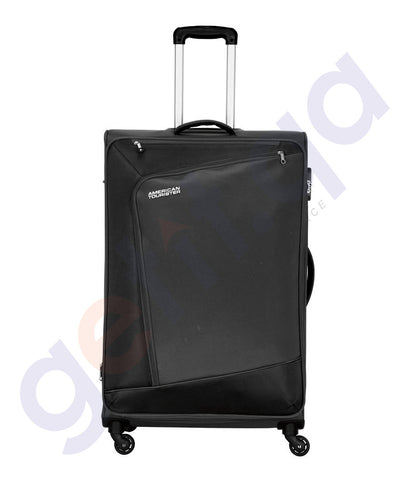 BUY AMERICAN TOURISTER VIENNA SPINNER BLACK 70CM- 29O IN QATAR