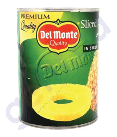 BUY DEL MONTE PINEAPPLE SLICES IN SYRUP 567GM IN QATAR