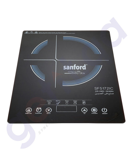 SHOP SANFORD INDUCTION COOKER 200WTS-SF5172IC ONLINE IN QATAR
