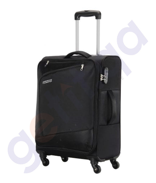 BUY AMERICAN TOURISTER VIENNA SPINNER. BLACK 82CM- 29O IN QATAR