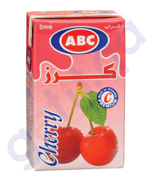 BUY BEST PRICED ABC CHERRY DRINK 250ML ONLINE IN QATAR
