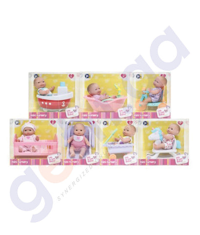 "BUY JC TOYS 5"" LOTS TO LOVE BABIES IN A. BOX IN DISPLAY BOX-16750 IN QATAR"