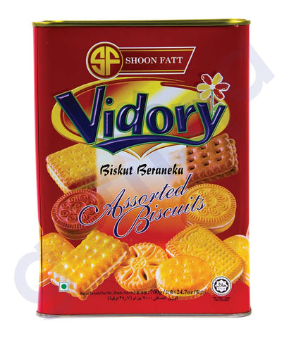 BUY BEST PRICED SHOON FATT VIDORY BISCUIT AST/PNK 700GM IN QATAR
