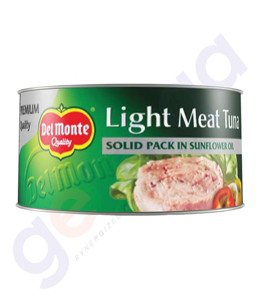 BUY DEL MONTE LIGHT M/TUNA S/PK- SF OIL.185GM IN QATAR
