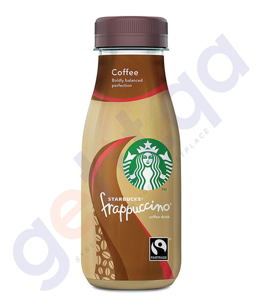 BUY BEST PRICED STARBUCKS FRAPPUCCINO COFFEE GLASS 250ML IN QATAR