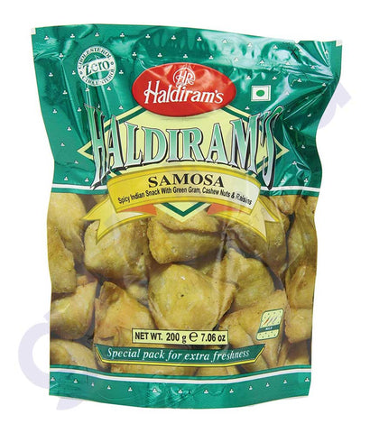 BUY BEST QUALITY HALDIRAMS SAMOSA 200GM ONLINE IN QATAR