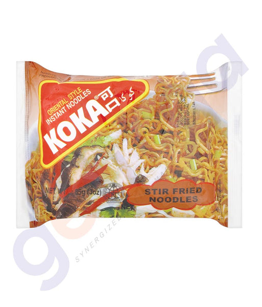 BUY BEST PRICED KOKA M/PACK NOODLES STIR FRIED 85GM IN QATAR