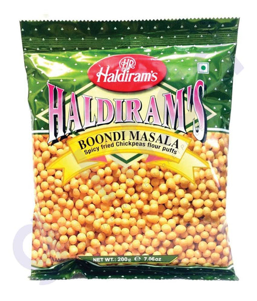BUY BEST QUALITY HALDIRAMS BOONDI MASALA NAMKEN 200GM IN QATAR