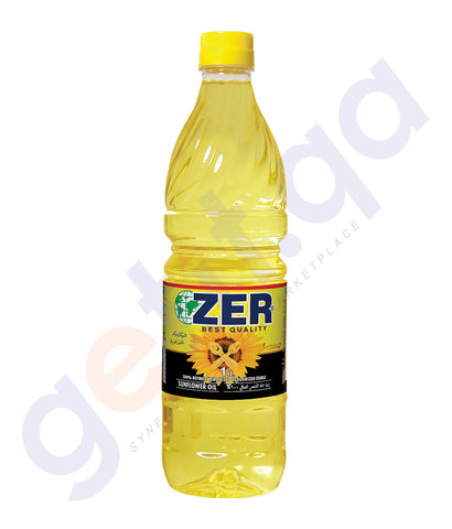 BUY ZER SUNFLOWER OIL 1LTR ONLINE IN QATAR