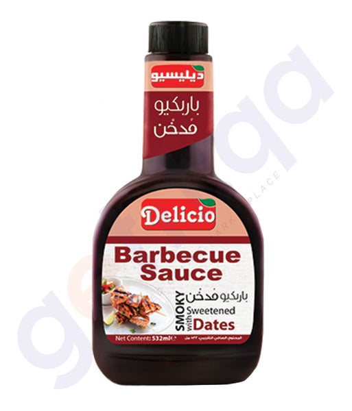 BUY BEST PRICED DELICIO SMOKY BBQ SAUCE 532GML IN QATAR