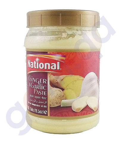 BUY BEST PRICED NATIONAL GINGER & GARLIC PASTE 750GM IN QATAR