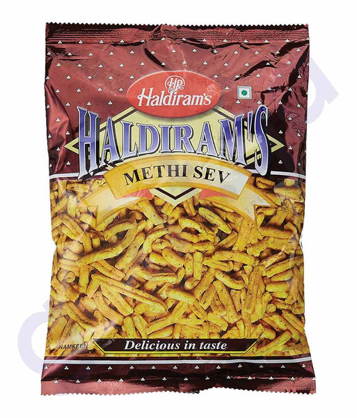 BUY BEST QUALITY HALDIRAMS SEV METHI 200GM ONLINE IN QATAR