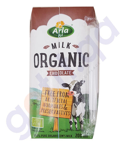 BUY BEST PRICED ARLA ORGANIC MILK CHOCOLATE 200ML ONLINE IN QATAR