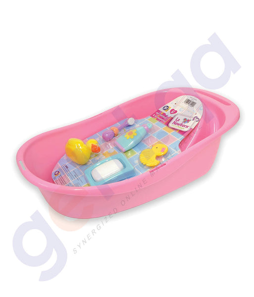BUY JC TOYS FOR KEEPS BATHTUB WITH ACCESSORIES-81400 IN QATAR