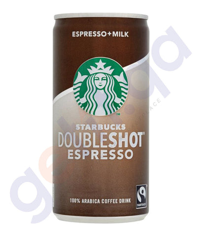 BUY BEST PRICED STARBUCKS DOUBLESHOT NAS 200ML ONLINE IN QATAR