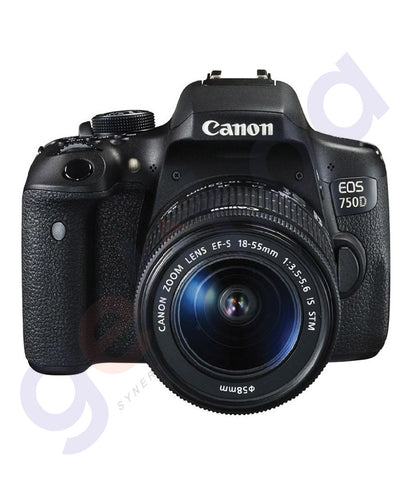 BUY CANON EOS 750D 18-55MM DSLR LENS WiFi ONLINE IN DOHA QATAR