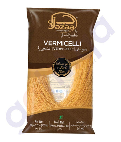 BUY BEST PRICED JAZAA VERMICELLI - 150GM ONLINE IN QATAR