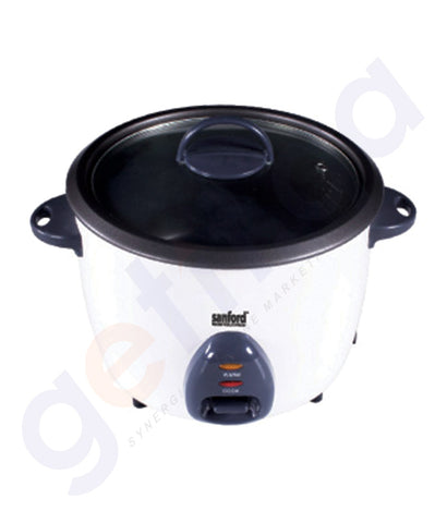 SHOP SANFORD RICE COOKER 1.0LTR - SF2511RC ONLINE IN QATAR
