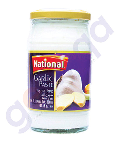 BUY BEST PRICED NATIONAL GARLIC PASTE 300GM IN QATAR