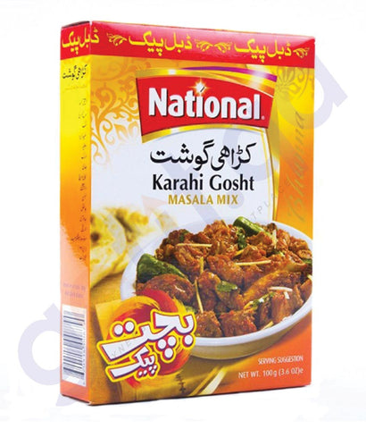 BUY BEST PRICED NATIONAL KARAHI GOSHT 100GM ONLINE IN QATAR